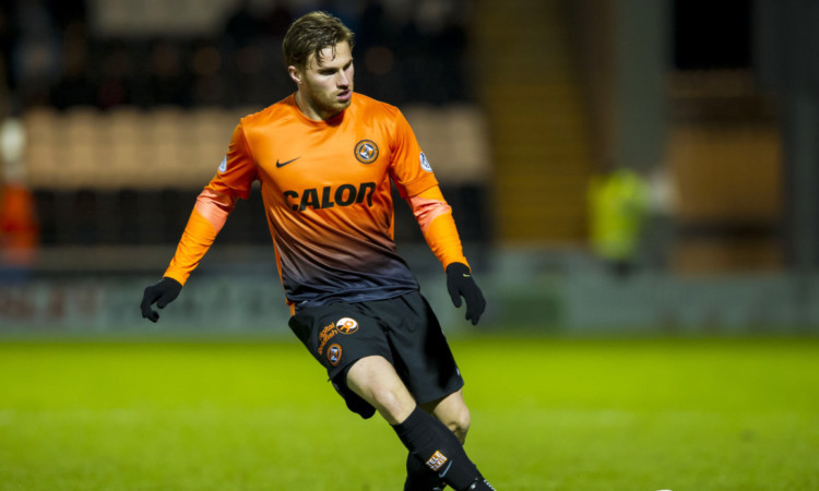 David Goodwillie returned to Dundee United on loan during the season.