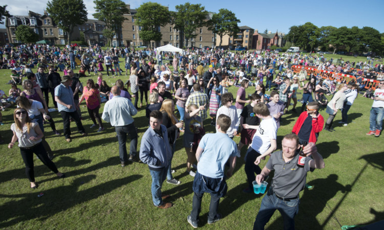 Large crowds had enjoyed a lively Big Sunday in the sun at WestFest.