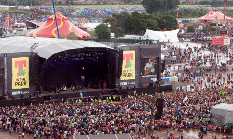 T in the Park has been held at Balado since 1997.