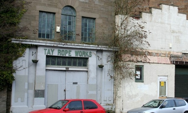 Kim Cessford, Courier - 11.03.11 - pictured is a general shot of the facade of the former Tay Rope Works, 51 Magdalene Yard Road which is the subject of a planning application