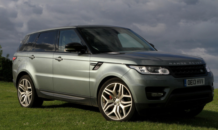 COURIER, DOUGIE NICOLSON, 03/06/14, FEATURES. THIS PIC FOR JACK McKEOWN. The Range Rover Sport at Broughty Ferry tonight, Tuesday 3rd June 2014.