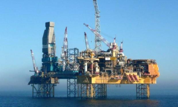 Totals Elgin platform in the North Sea.