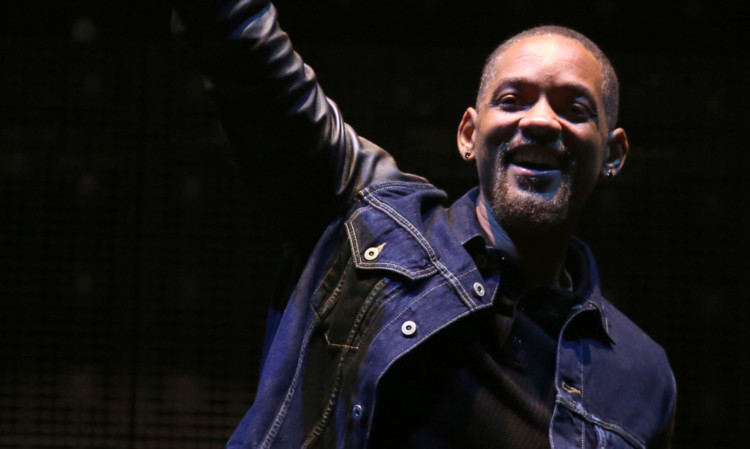 Actor Will Smith introducing Calvin Harris on to the Main Stage on Saturday night was one of the festival surprises.