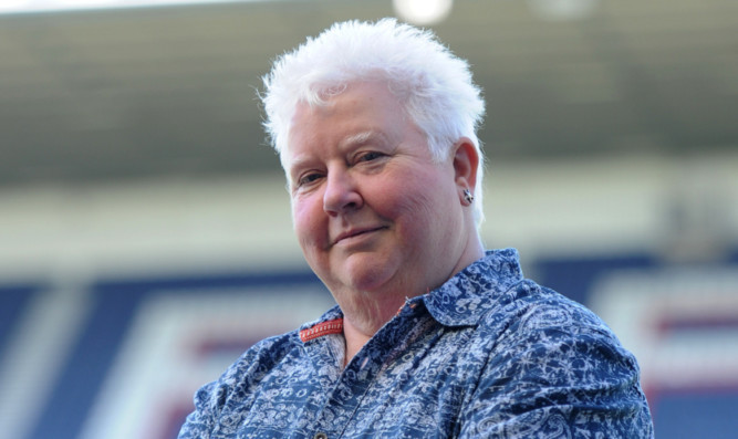 Crime writer Val McDermid is in favour of independence.