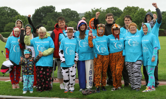 The members of Team One-zie were among those who took part in last years Relay For Life.