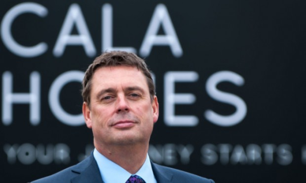 Cala CEO Alan Brown is confident the firm can almost treble in size in just two years.