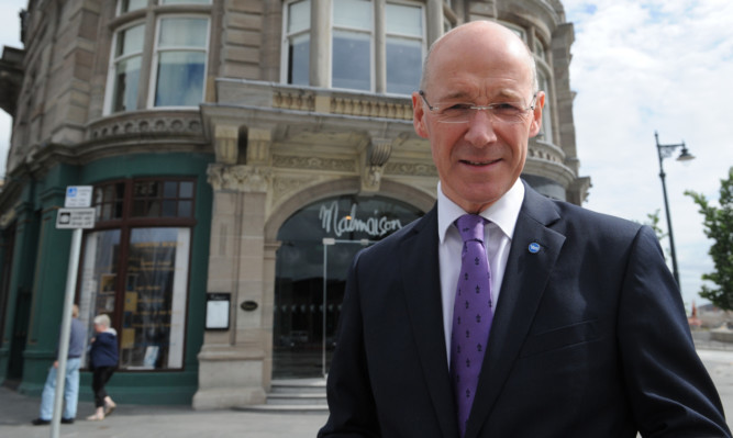 Finance Secretary John Swinney has admitted there is a case for a top rate of tax returning to 60p.