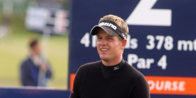 The Alfred Dunhill Links Championship, St Andrews.    Luke Donald and Rory McIlroy