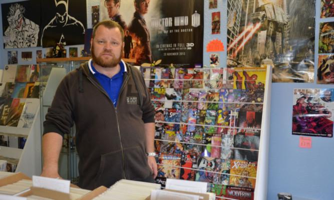 Andrew Magee at Kingdom Comics.