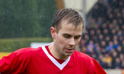 Alan Trouten got the only goal of the game for Brechin City.
