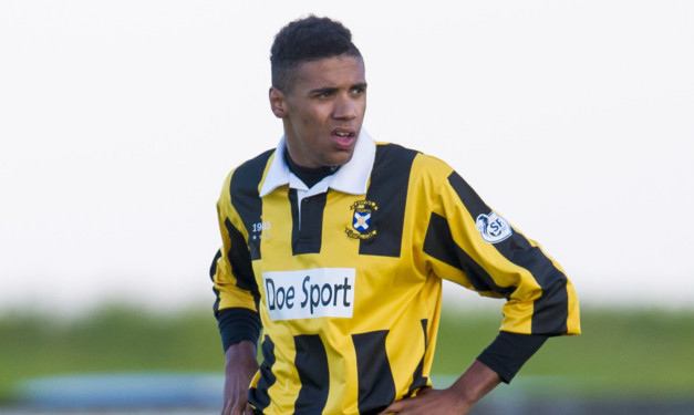 Nathan Austin's late goal sealed the tie for East Fife.