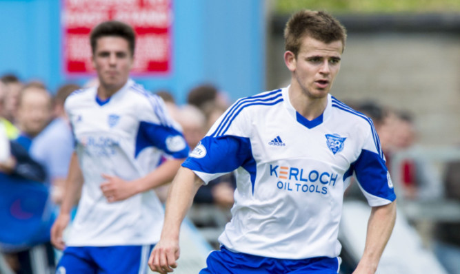 Former Brechin starJamie Redman scored for Peterhead.
