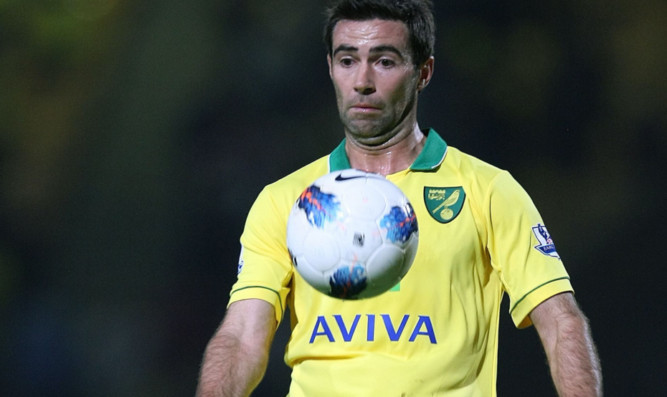 Simon Lappin in action for Norwich.