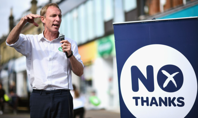 Jim Murphy has been touring the country to argue for a No vote.