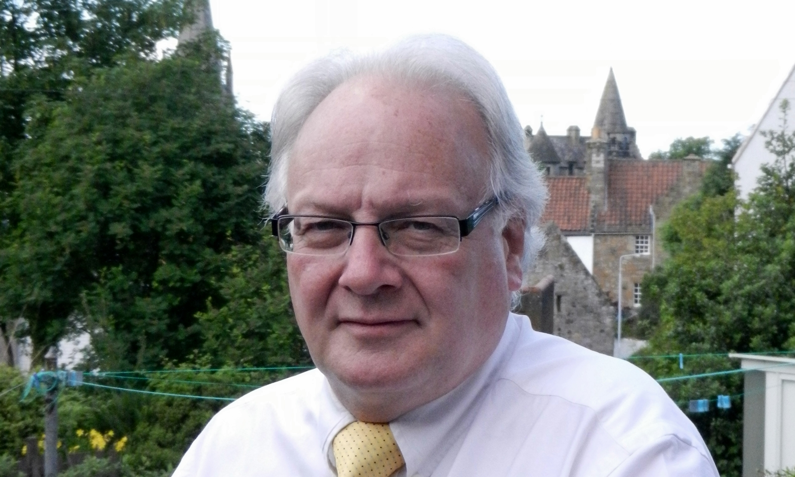 Fife Councillor David MacDiarmid.