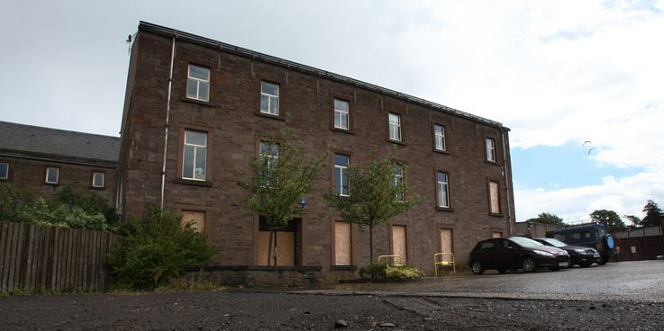 St James House, Forfar.   The former council headquarters.