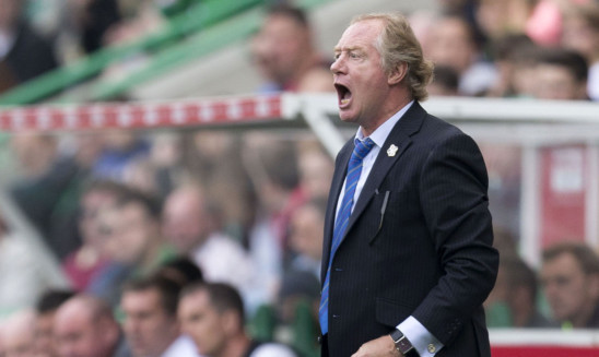 Cowdenbeath Manager Jimmy Nicholl.