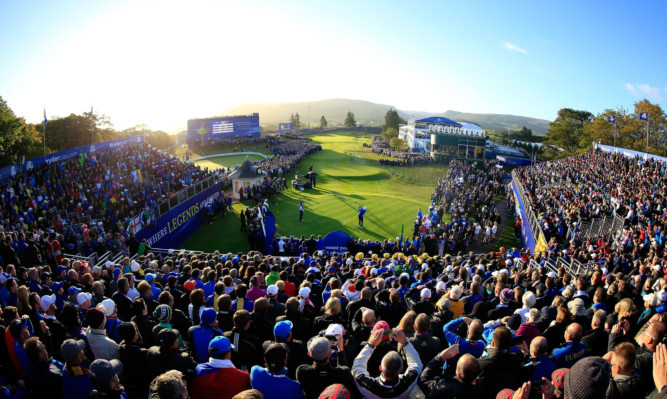The Ryder Cup drew thousands to Gleneagles