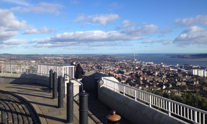 Dundee is regarded as Scotland's sunniest city.