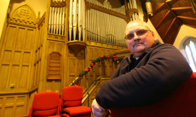 The Rev Bruce Dempsey, of Coupar Angus Abbey Church, who is spearheading the fight.