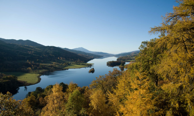 The Queens View is just one of the beauty spots that attracts tourists to Highland Perthshire.