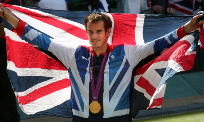 Andy Murray has been awarded an OBE for his exploits in 2012.