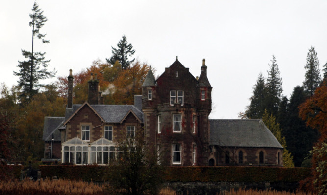 Cromlix House Hotel near Dunblane.