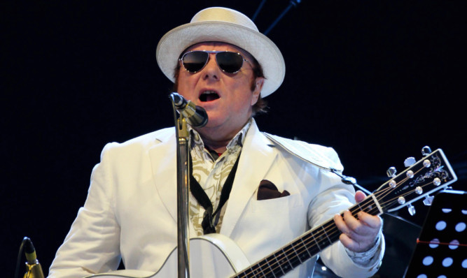 Van Morrison will play Perth Concert Hall on May 22.