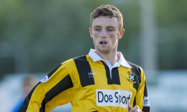 Caolan McAleer put East Fife ahead.