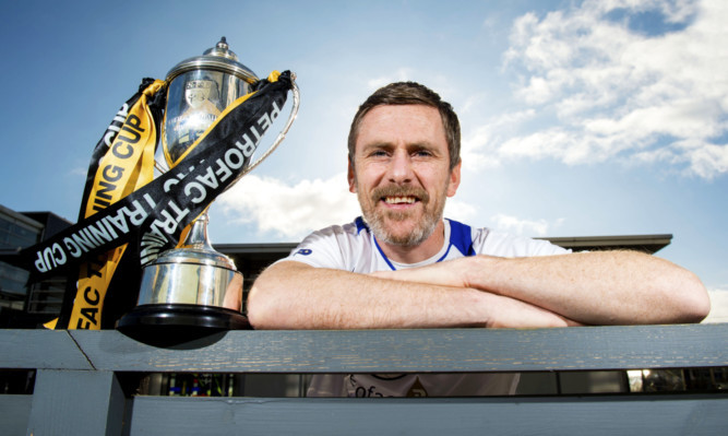 East Fife manager Gary Naysmith looks ahead to the Petrofac Training Cup Quarter Final clash with Rangers.