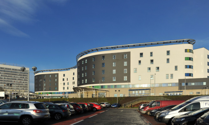 Kim Cessford - 27.12.12 - FOR FILE - pictured is the Victoria Hospital, Kirkcaldy