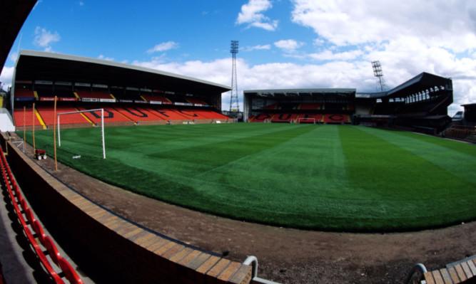 SEASON 1994/1995 TANNADICE - DUNDEE Tannadice Park, home ground of Dundee Utd.