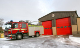 Balmossie fire station.