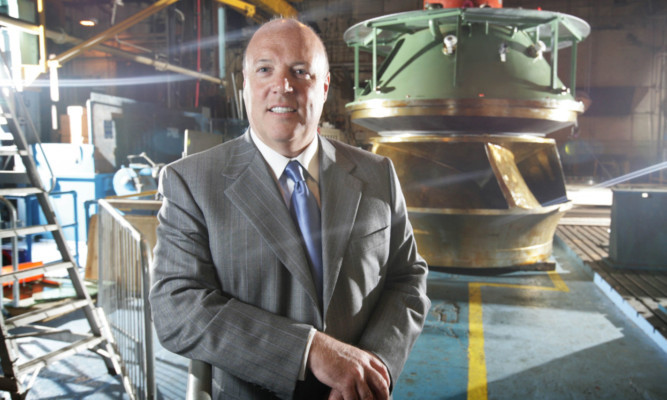 Jim McColl plans to restore Parsons Peebles Generation to its former glory