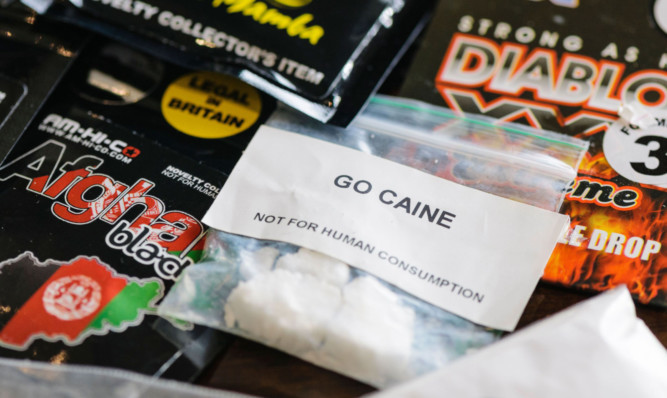 Crackdown call for Perth 'legal high' shops - The Courier