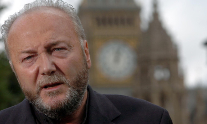 George Galloway is angered that Rangers has emerged as a newco and avoided paying tax owed.