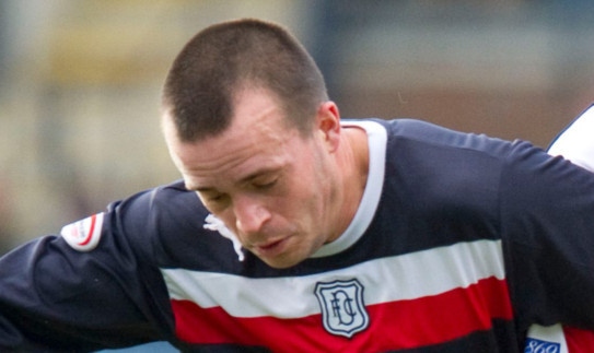 Steven Milne is enjoying Dundee's new attacking style