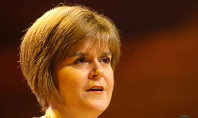 Nicola Sturgeon did not give specific assurances on child benefit which is now means-tested.