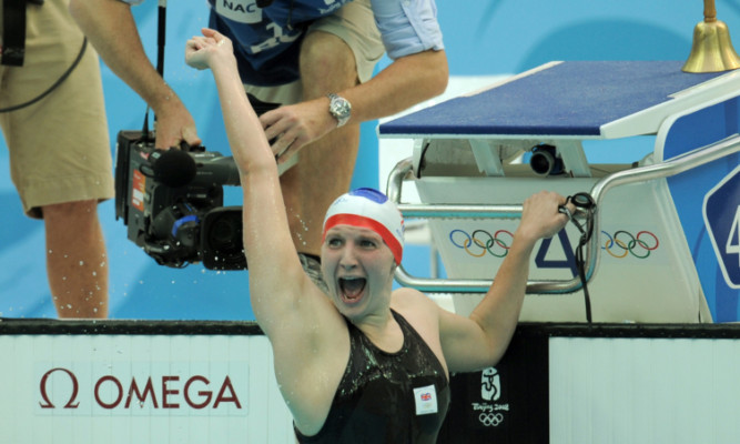 Rebecca Adlington said claiming two gold medals in Beijing 'changed my entire life'.