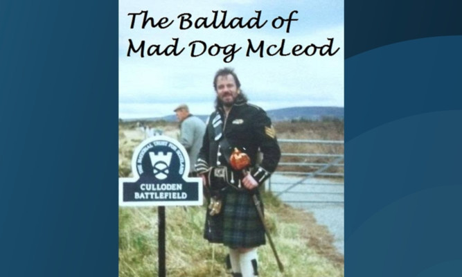 Billy 'Mad Dog' McLeod chronciled his travels with Scotland fans in his book.