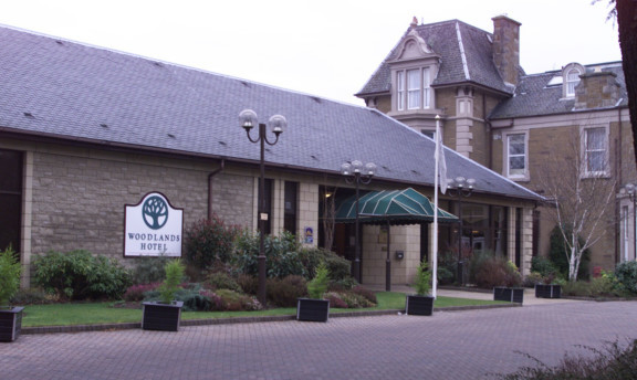 The Woodlands Hotel in Broughty Ferry.
