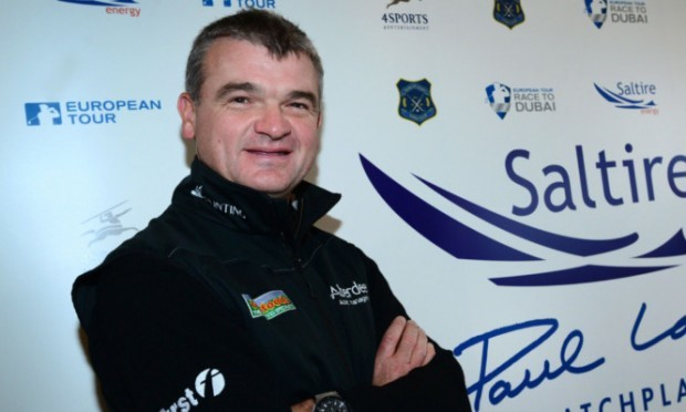 Paul Lawrie at the launch of his new event.