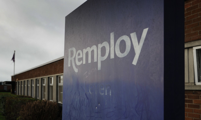 The Remploy factory in Leven.