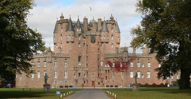 Glamis Castle, Glamis.