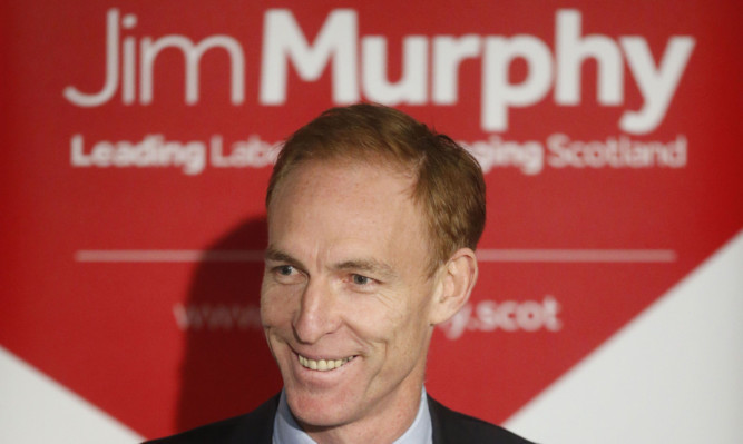 Jim Murphy officially announcing his leadership bid earlier this month.