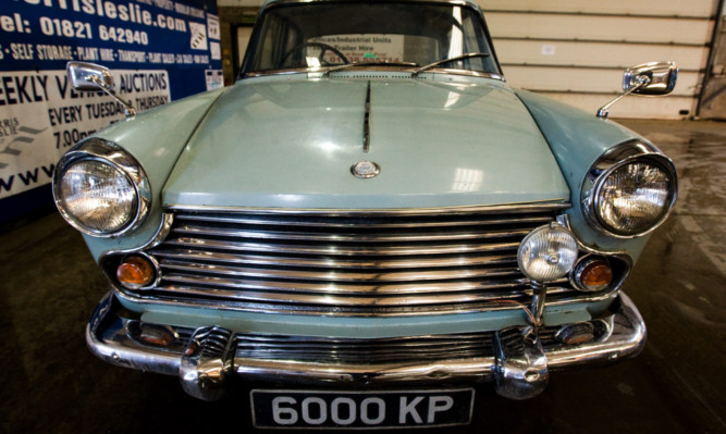 The 1964 Morris Oxford saloon was the last car Churchill bought before his death in 1965.