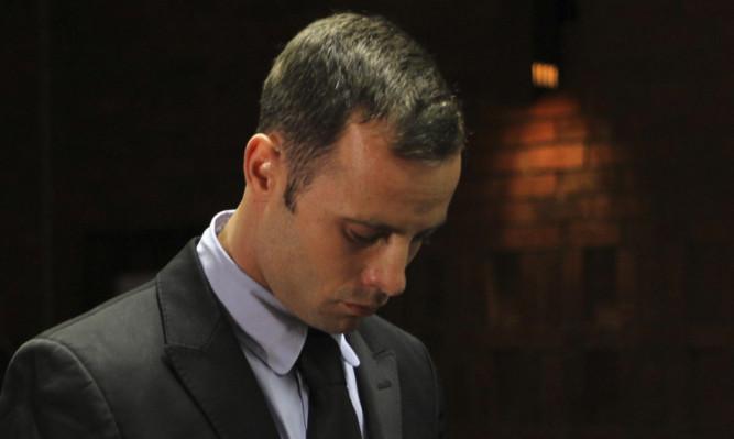 Oscar Pistorius during his bail hearing last week.