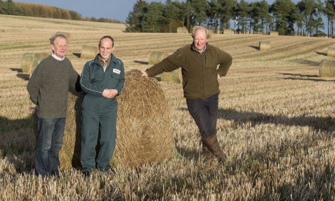 Hugh and Allan Wilson and Edward Baxter are continuing a long-standing partnership between the families which is built upon mutual respect of each other as rural businessmen rather than an owner versus tenant approach.