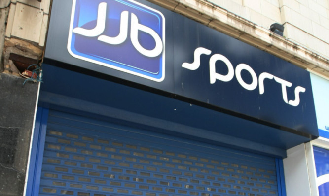 Shutters down: JJB Sports was one of many retailers to fall under