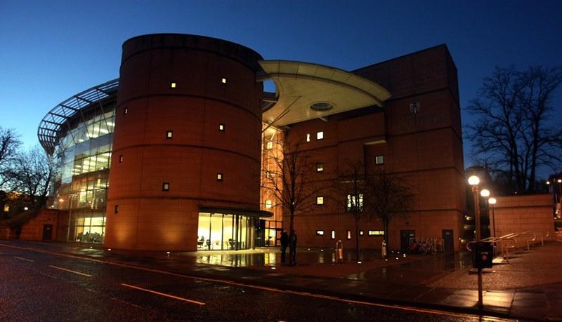 Abertay University Library, Dundee.